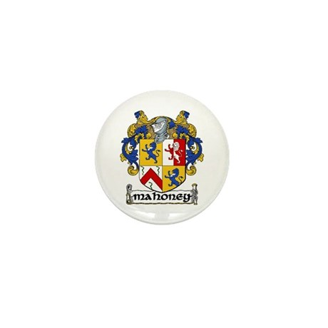 Mahoney Coat of Arms Mini Button (10 pack)