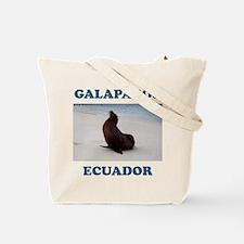 GALAPAGOS SEA LION Tote Bag