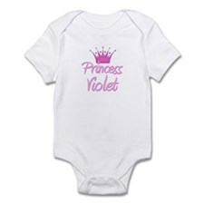 Princess Violet Infant Bodysuit