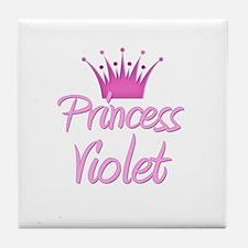 Princess Violet Tile Coaster