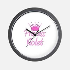 Princess Violet Wall Clock