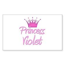 Princess Violet Rectangle Decal