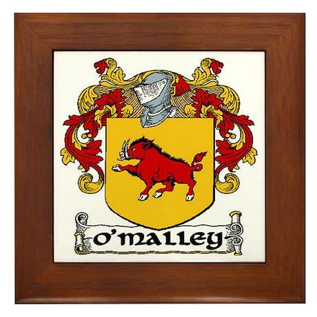O'Malley Coat of Arms Framed Tile