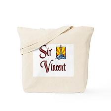 Sir Vincent Tote Bag