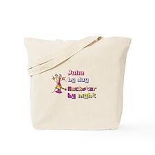 Julia - Rock Star By Night Tote Bag