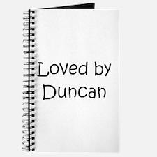 Cute Duncan Journal