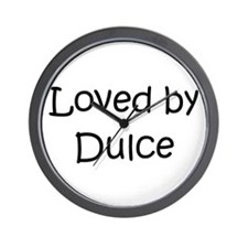 Cute Dulce Wall Clock
