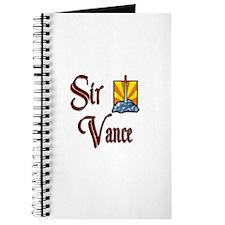 Sir Vance Journal