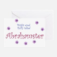 Abrahamster Greeting Card