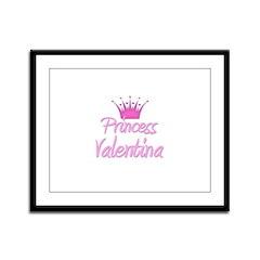 Princess Valentina Framed Panel Print
