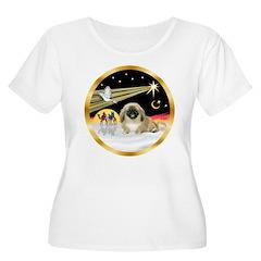 Wisemen/Pekingese T-Shirt