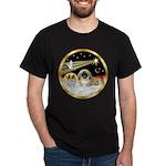 Wisemen/Pekingese Dark T-Shirt