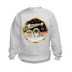 Wisemen/Pekingese Kids Sweatshirt
