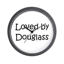 Unique Douglass Wall Clock