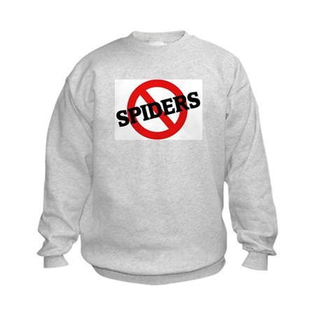 Anti Spiders Kids Sweatshirt