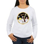 Night Flight/Beagle #2 Women's Long Sleeve T-Shirt
