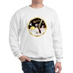 Night Flight/Beagle #2 Sweatshirt