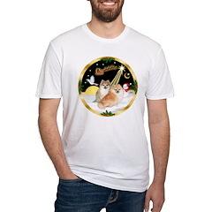 Night Flight/2 Pomeranians Shirt