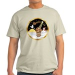 Night Flight/Dachshund #11 Light T-Shirt