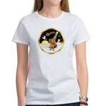 Night Flight/Dachshund #13 Women's T-Shirt