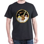 Night Flight/Dachshund #13 Dark T-Shirt