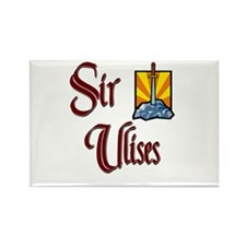 Sir Ulises Rectangle Magnet