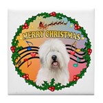 XmasMusic 3/OES #3 Tile Coaster