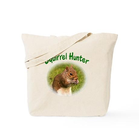 Squirrel Hunter Tote Bag