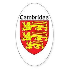 Cambridge Oval Decal