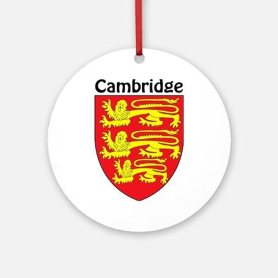 Cambridge Ornament (Round)