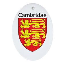 Cambridge Oval Ornament