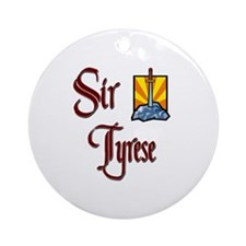 Sir Tyrese Ornament (Round)