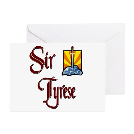 Sir Tyrese Greeting Cards (Pk of 10)