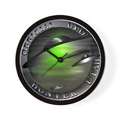 Official UFO Hunter Wall Clock