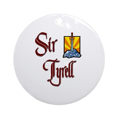 Sir Tyrell Ornament (Round)