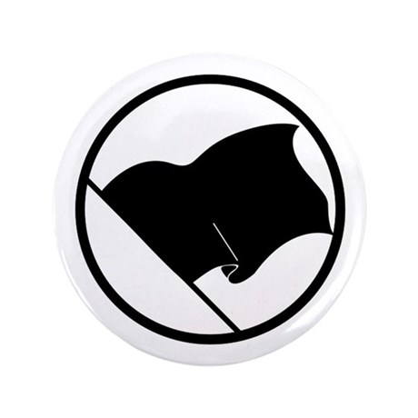 """Anarchist's Flag 3.5"""" Button (100 pack)"""