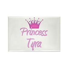 Princess Tyra Rectangle Magnet