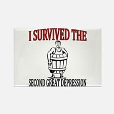 2nd Great Depression Rectangle Magnet