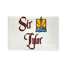 Sir Tylor Rectangle Magnet