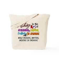 The Art of Fishing Tote Bag