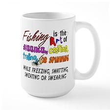 The Art of Fishing Mug