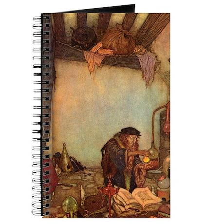 """Edmund Dulac """"The Alchemist"""" Journal"""
