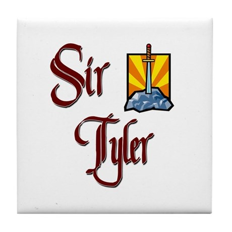 Sir Tyler Tile Coaster