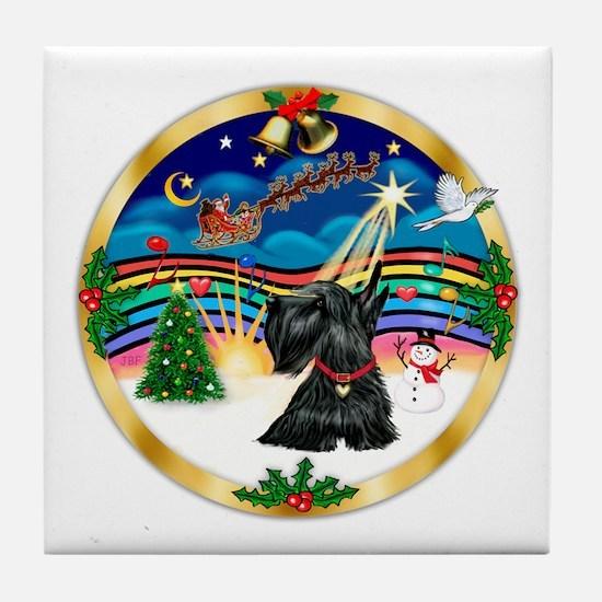 XmasMusic 3/Scottie #12 Tile Coaster