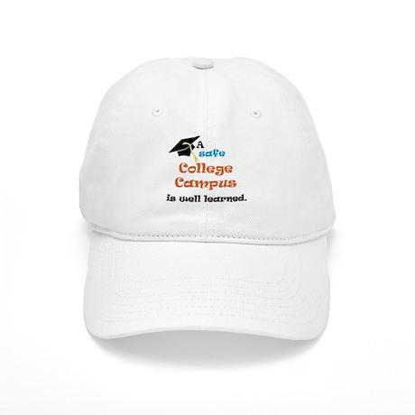 A Safe College Campus Cap