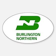 Burlington Northern Oval Decal