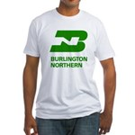 Burlington Northern Fitted T-Shirt