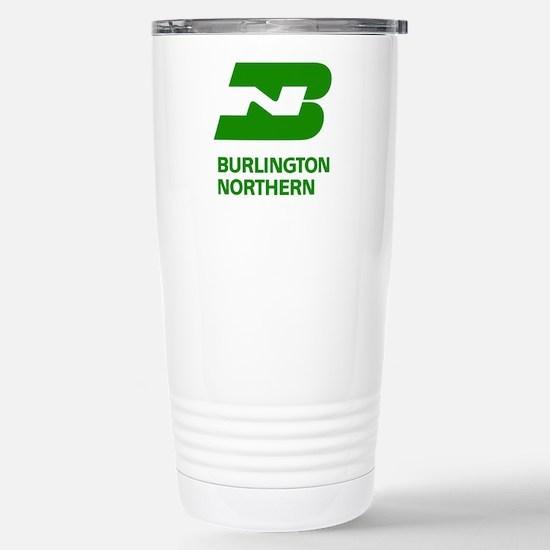 Burlington Northern Stainless Steel Travel Mug