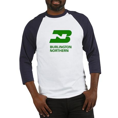 Burlington Northern Baseball Jersey
