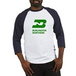 Burlington Northern Baseball Jersey
